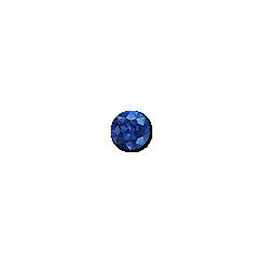 3mm Round Blue Sapphire
