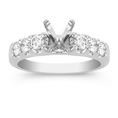 Steadily Grand Diamond Engagement Ring