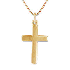 14k Yellow Gold Cross Pendant (18)