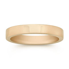 14k Yellow Gold Wedding Band (3mm)