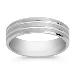 14k White Gold Ring (6mm)
