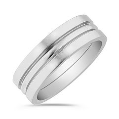 Titanium Wedding Band (7mm)