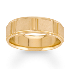 14k Yellow Gold Ring (7mm)