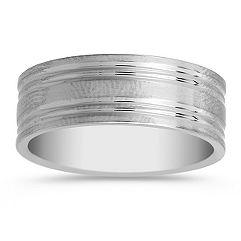 Titanium Wedding Band (8mm)
