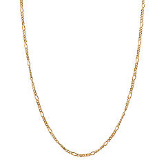 14k Yellow Gold Figaro  Chain (18)