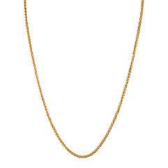 14k Yellow Gold Wheat  Chain (18)