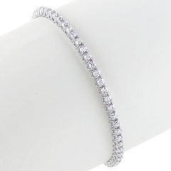 Round Diamond Tennis Bracelet (7)