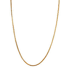14k Yellow Gold Box  Chain (24)
