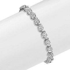 S-Link Diamond Tennis Bracelet (7 in.)