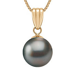 10mm Cultured Tahitian Pearl Pendant (18)