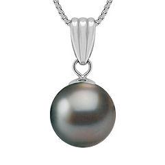 10mm Cultured Tahitian Pearl Pendant (18 in.)