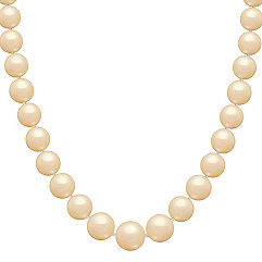 13mm Cultured Golden South Sea Pearl Strand (18 in.)
