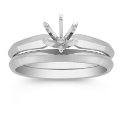 Platinum Wedding Set
