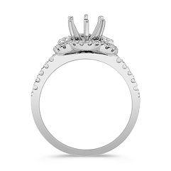 Halo Diamond Engagement Ring 3/8 ct. t.w.