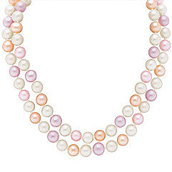 6mm Multi-Colored Cultured Freshwater Pearl Strand (65)