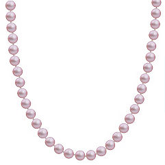 7mm Lavender Cultured Freshwater Pearl Strand (20)