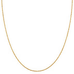 14k Yellow Gold Diamond Cut Rope Chain (20)