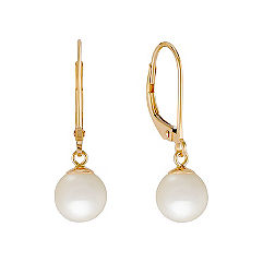 7mm Cultured Akoya Pearl Earrings
