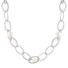Sterling Silver and Pearl Necklace (24 in.) 9mm Freshwater