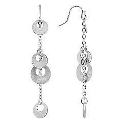 Dangle Sterling Silver Earrings