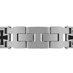 Stainless Steel Cross Bracelet (9)