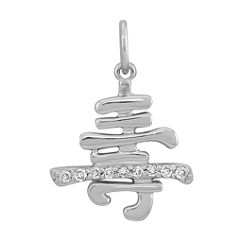Round Diamond Health Charm