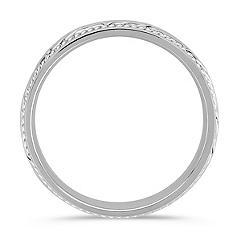 14k White Gold Ring (7mm)