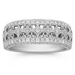 Diamond Pave Set Ring