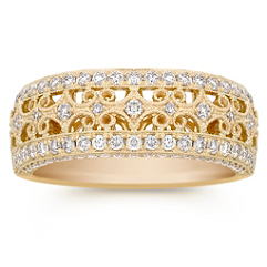 Diamond Pave Set Ring