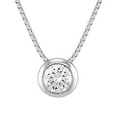 Round Diamond Pendant