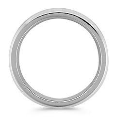 Men's Cobalt Comfort Fit Ring with Satin Finish (7.5mm)