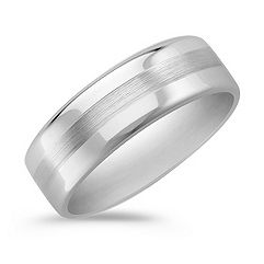 Cobalt Comfort Fit Ring (7.5mm)