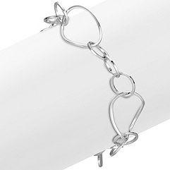 Sterling Silver Bracelet (7 in.)