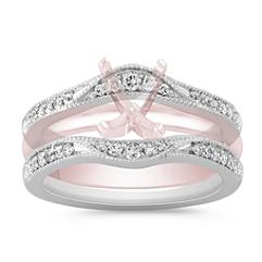 Contour Diamond Engagement Ring Guard