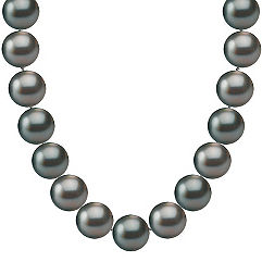 9mm Cultured Tahitian Pearl Necklace (18 in.)