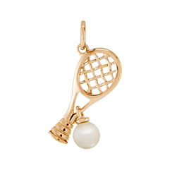4mm Cultured Freshwater Pearl Tennis Charm