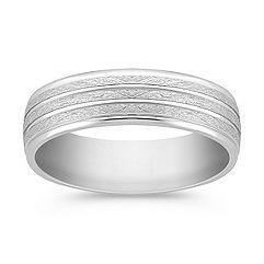 Platinum Wedding Band (7mm)