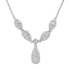 Round Diamond Necklace (18 in.)