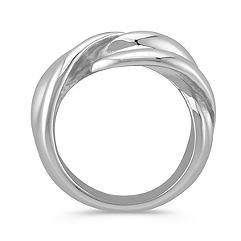 Twist Sterling Silver Ring