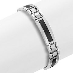 Stainless Steel and Carbon Fiber Bracelet (9)