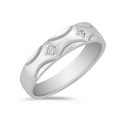 Round Diamond Wedding Band (5.5mm)