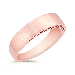 14k Rose Gold Wedding Band (5.5mm)