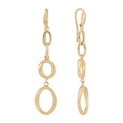 14k Yellow Gold Earrings