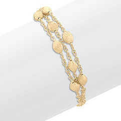 14k Yellow Gold Bracelet (7.5 in.)