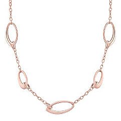 14k Rose Gold Necklace (18 in.)