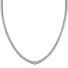 Round Diamond Necklace (16 in.)