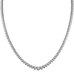 Round Diamond Necklace (16 in.)