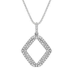 Round Diamond Pendant (18)