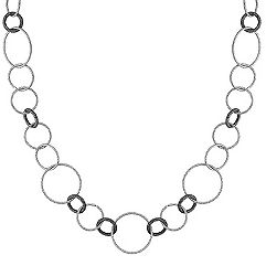 Sterling Silver Necklace (24 in.)
