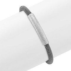 Sterling Silver Bracelet (7.5 in.)